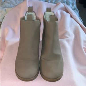 Divided H&M  tan/brown booties